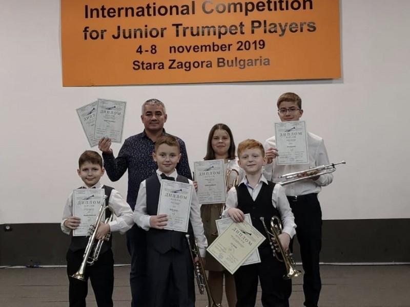 Конкурс трубачей Болгария
